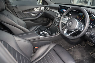 2020 Mercedes-Benz C-Class W205 800+050MY C300 9G-Tronic e Mojave Silver 9 Speed Sports Automatic.