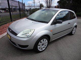 2004 Ford Fiesta WP LX Silver 4 Speed Automatic Hatchback.