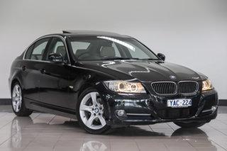 2010 BMW 3 Series E90 MY11 320d Steptronic Lifestyle Black 6 Speed Sports Automatic Sedan.