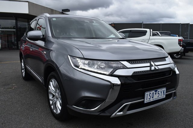 Used Mitsubishi Outlander ZL MY20 ES 2WD Wantirna South, 2019 Mitsubishi Outlander ZL MY20 ES 2WD Titanium Grey 6 Speed Constant Variable Wagon