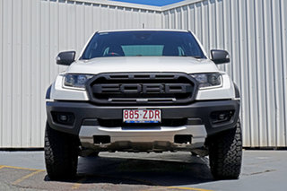 2019 Ford Ranger PX MkIII 2019.00MY Raptor White 10 Speed Sports Automatic Double Cab Pick Up.