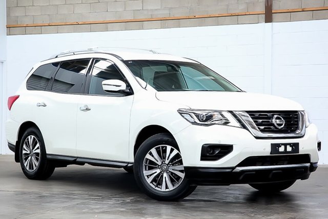 Used Nissan Pathfinder R52 Series II MY17 ST X-tronic 4WD Erina, 2017 Nissan Pathfinder R52 Series II MY17 ST X-tronic 4WD White 1 Speed Constant Variable Wagon