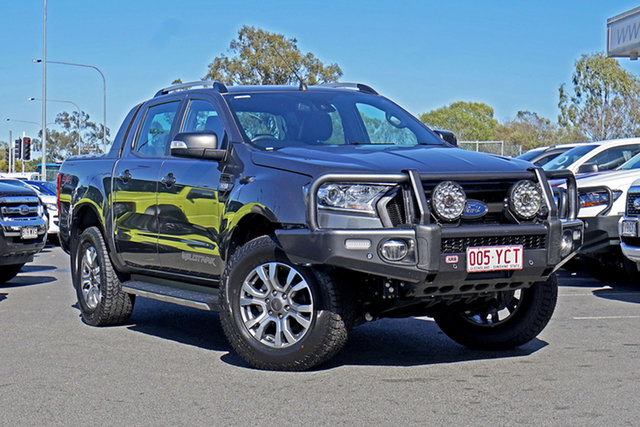 Used Ford Ranger PX MkII 2018.00MY Wildtrak Double Cab Ebbw Vale, 2018 Ford Ranger PX MkII 2018.00MY Wildtrak Double Cab Grey 6 Speed Sports Automatic Utility