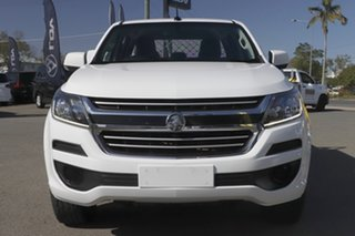 2018 Holden Colorado RG MY19 LS Pickup Crew Cab Summit White 6 Speed Manual Utility