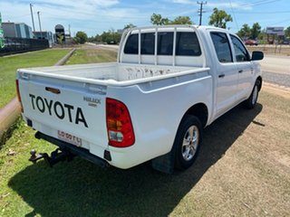 2006 Toyota Hilux TGN16R MY05 Workmate 4x2 White 5 Speed Manual Utility
