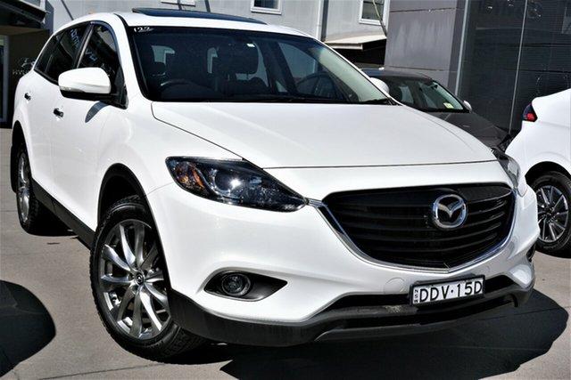 Used Mazda CX-9 TB10A5 Luxury Activematic Phillip, 2015 Mazda CX-9 TB10A5 Luxury Activematic White 6 Speed Sports Automatic Wagon