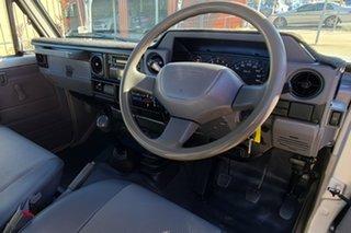 2008 Toyota Landcruiser VDJ79R GX Silver 5 Speed Manual Cab Chassis.