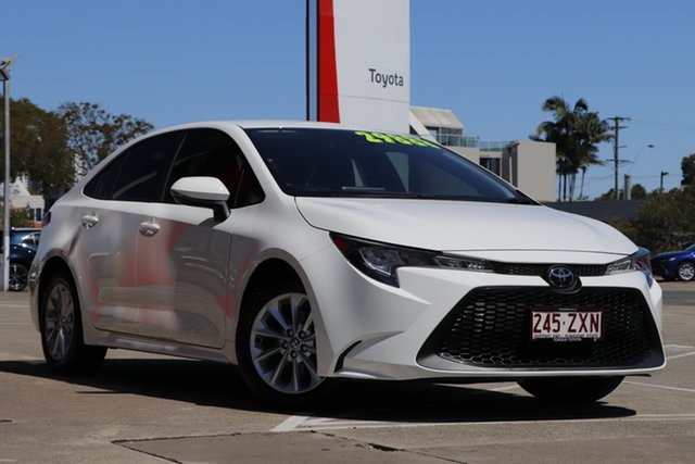 Pre-Owned Toyota Corolla Mzea12R Ascent Sport Albion, 2020 Toyota Corolla Mzea12R Ascent Sport Glacier White 10 Speed Constant Variable Sedan