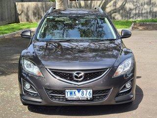 2011 Mazda 6 GH1052 MY10 Touring Grey 5 Speed Sports Automatic Wagon.