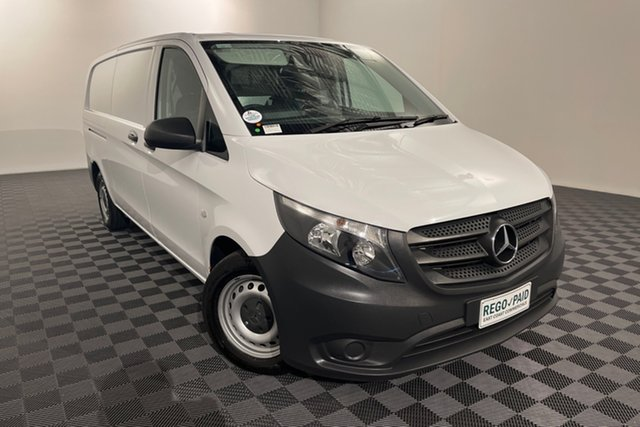 Used Mercedes-Benz Vito 447 114BlueTEC LWB 7G-Tronic + Acacia Ridge, 2017 Mercedes-Benz Vito 447 114BlueTEC LWB 7G-Tronic + White 7 speed Automatic Van