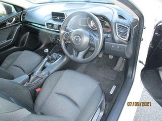 2015 Mazda 3 BM MY15 Maxx White 6 Speed Manual Sedan