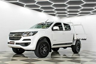 2017 Holden Colorado RG MY18 LS (4x2) White 6 Speed Automatic Crew Cab Chassis