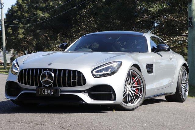 Used Mercedes-Benz AMG GT C190 809MY C SPEEDSHIFT DCT Rocklea, 2019 Mercedes-Benz AMG GT C190 809MY C SPEEDSHIFT DCT Iridium Silver 7 Speed