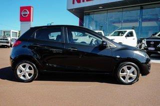 2010 Mazda 2 DE10Y1 Neo Black 4 Speed Automatic Hatchback.