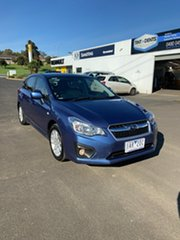 2014 Subaru Impreza G4 MY14 2.0i-L Lineartronic AWD Blue 6 Speed Constant Variable Hatchback.
