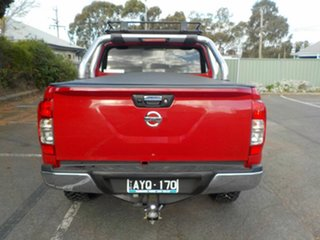 2018 Nissan Navara D23 Series III MY18 RX (4x4) Red 7 Speed Automatic Dual Cab Chassis