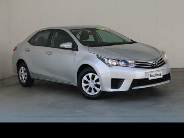 Used Toyota Corolla ZRE172R Ascent Belconnen, 2014 Toyota Corolla ZRE172R Ascent Silver Ash 7 Speed CVT Auto Sequential Sedan