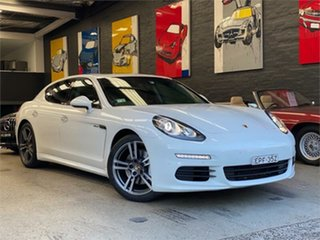 2014 Porsche Panamera 970 Diesel White Sports Automatic Sedan.