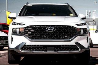 2021 Hyundai Santa Fe Tm.v3 MY21 Elite DCT White 8 Speed Sports Automatic Dual Clutch Wagon.
