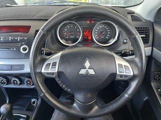 2011 Mitsubishi Lancer CJ MY12 Activ White/250311 5 Speed Manual Sedan