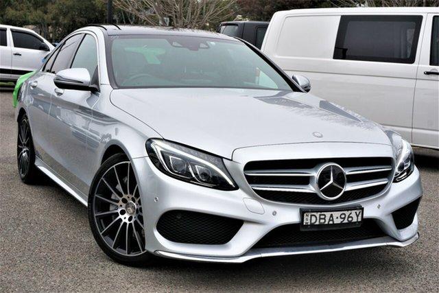 Used Mercedes-Benz C-Class W205 C250 7G-Tronic + Phillip, 2015 Mercedes-Benz C-Class W205 C250 7G-Tronic + Silver 7 Speed Sports Automatic Sedan