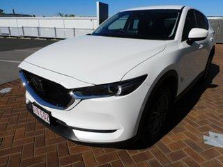 2020 Mazda CX-5 KF2W7A Maxx SKYACTIV-Drive FWD Sport White 6 Speed Sports Automatic Wagon
