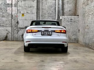 2014 Audi A3 8V MY15 Attraction S Tronic White 7 Speed Sports Automatic Dual Clutch Cabriolet