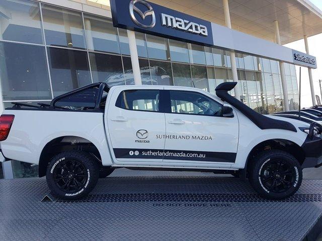 Demo Mazda BT-50 B30B XT (4x4) Kirrawee, 2020 Mazda BT-50 B30B XT (4x4) Ice White 6 Speed Automatic Dual Cab Chassis