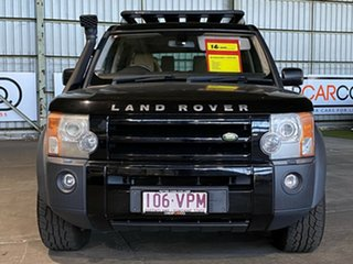 2008 Land Rover Discovery 3 Series 3 08MY SE Black 6 Speed Sports Automatic Wagon