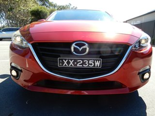 2014 Mazda 3 BM5438 SP25 SKYACTIV-Drive Ruby Red 6 Speed Sports Automatic Hatchback.