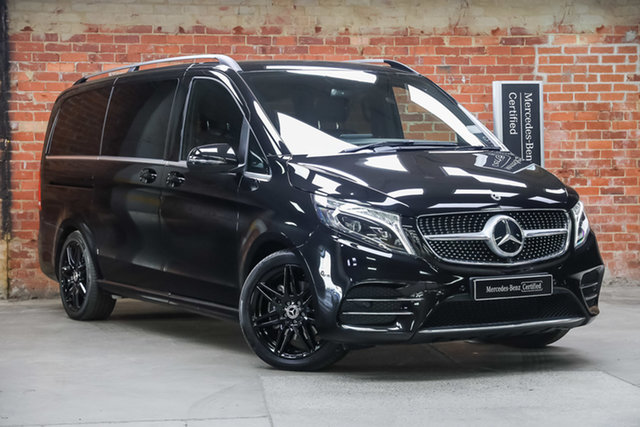 Certified Pre-Owned Mercedes-Benz V-Class 447 MY20 V250 d MWB 7G-Tronic + Avantgarde Mulgrave, 2020 Mercedes-Benz V-Class 447 MY20 V250 d MWB 7G-Tronic + Avantgarde Black 7 Speed Sports Automatic
