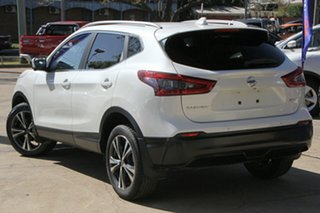 2019 Nissan Qashqai J11 Series 3 MY20 ST-L X-tronic Pearl White 1 Speed Constant Variable Wagon