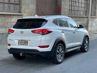 2017 Hyundai Tucson TLe MY17 Elite 2WD Pure White 6 Speed Sports Automatic Wagon