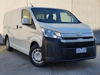 2021 Toyota HiAce GDH300R LWB White 6 Speed Sports Automatic Van.