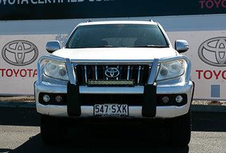 2013 Toyota Landcruiser Prado KDJ150R 11 Upgrade GXL (4x4) Silver Pearl 5 Speed Sequential Auto.