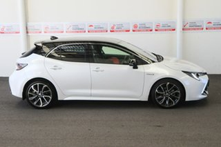 2020 Toyota Corolla ZWE211R ZR E-CVT Hybrid Frosted White + Black Roof 10 Speed Constant Variable