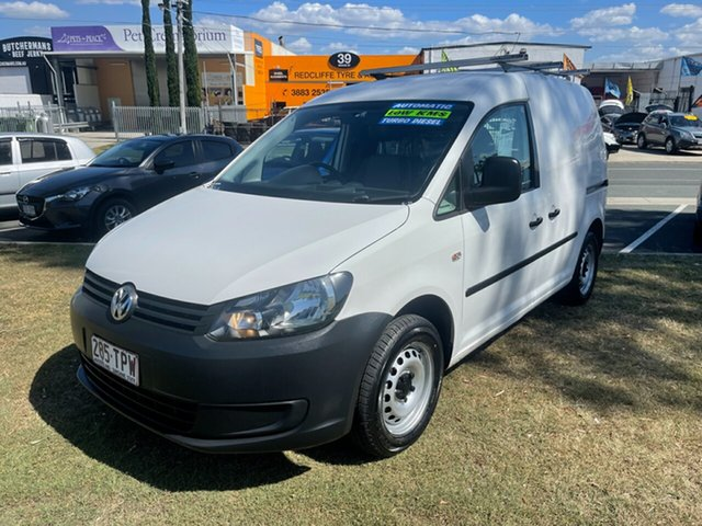 Used Volkswagen Caddy 2K MY13 TDI250 Maxi DSG Comfortline Clontarf, 2013 Volkswagen Caddy 2K MY13 TDI250 Maxi DSG Comfortline White 7 Speed Sports Automatic Dual Clutch