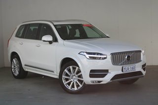 2016 Volvo XC90 L Series MY16 D5 Geartronic AWD Momentum Ice White 8 Speed Sports Automatic Wagon.
