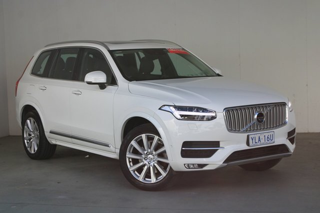 Used Volvo XC90 L Series MY16 D5 Geartronic AWD Momentum Phillip, 2016 Volvo XC90 L Series MY16 D5 Geartronic AWD Momentum Ice White 8 Speed Sports Automatic Wagon