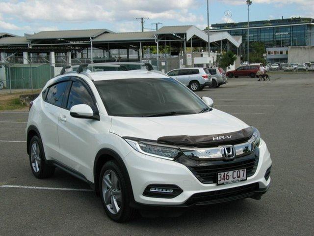 Used Honda HR-V MY18 VTi-S Albion, 2018 Honda HR-V MY18 VTi-S White Continuous Variable Wagon