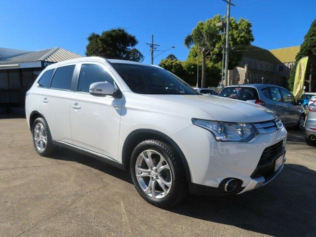 Used Mitsubishi Outlander ZJ MY14 LS (4x4) Toowoomba, 2014 Mitsubishi Outlander ZJ MY14 LS (4x4) White 6 Speed Automatic Wagon