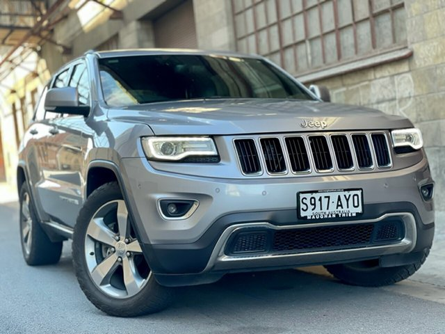 Used Jeep Grand Cherokee WK MY2014 Limited Cheltenham, 2014 Jeep Grand Cherokee WK MY2014 Limited Silver 8 Speed Sports Automatic Wagon