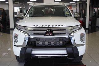 2021 Mitsubishi Pajero Sport QF MY21 GLS White 8 Speed Sports Automatic Wagon