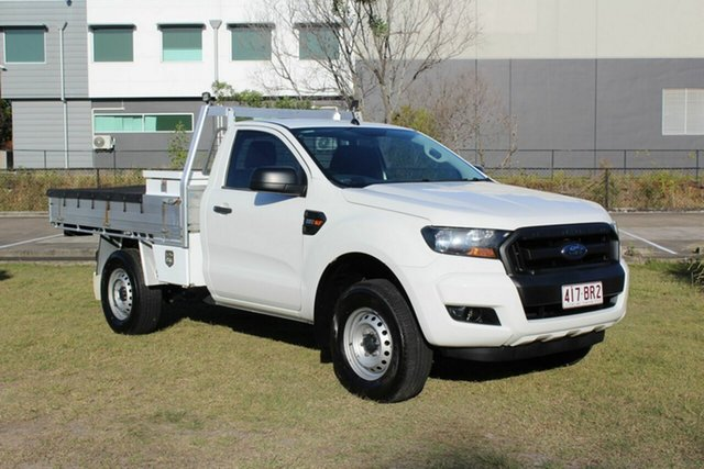 Used Ford Ranger PX MkII XL Hi-Rider Ormeau, 2016 Ford Ranger PX MkII XL Hi-Rider White 6 Speed Sports Automatic Cab Chassis