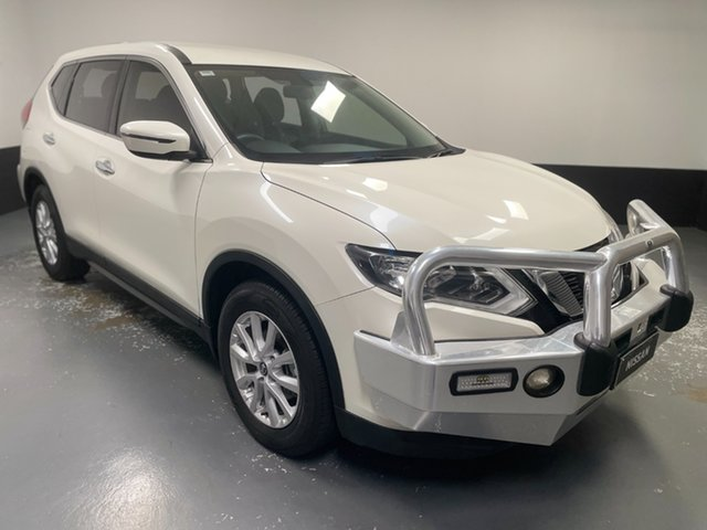 Used Nissan X-Trail T32 Series II ST X-tronic 2WD Hamilton, 2018 Nissan X-Trail T32 Series II ST X-tronic 2WD White 7 Speed Constant Variable Wagon