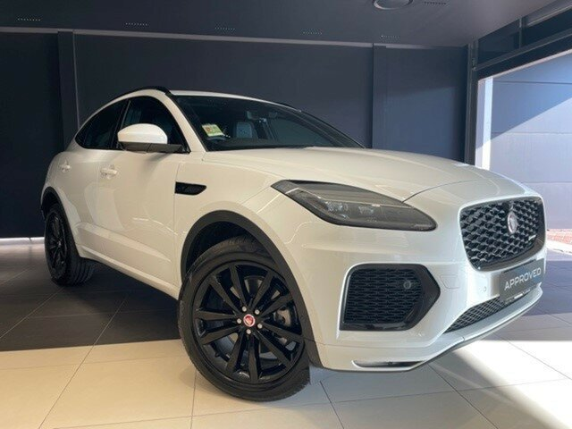 Used Jaguar E-PACE X540 21MY Standard R-Dynamic SE Toowoomba, 2021 Jaguar E-PACE X540 21MY Standard R-Dynamic SE White 9 Speed Sports Automatic Wagon