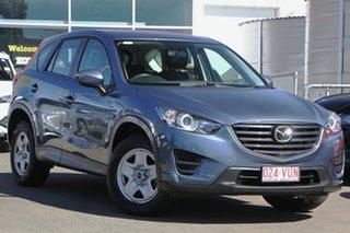 2015 Mazda CX-5 KE1072 Maxx SKYACTIV-Drive Blue 6 Speed Sports Automatic Wagon.