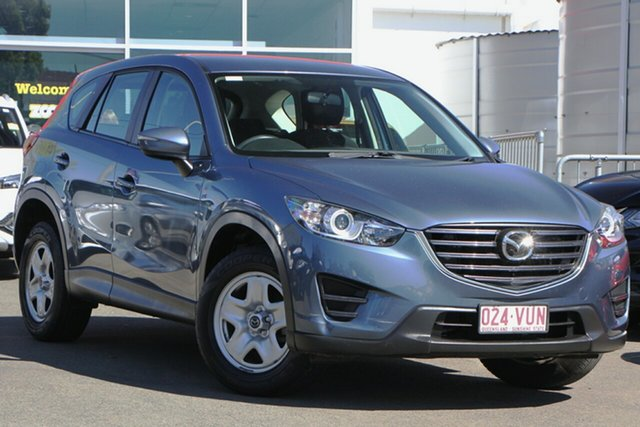 Used Mazda CX-5 KE1072 Maxx SKYACTIV-Drive Toowoomba, 2015 Mazda CX-5 KE1072 Maxx SKYACTIV-Drive Blue 6 Speed Sports Automatic Wagon