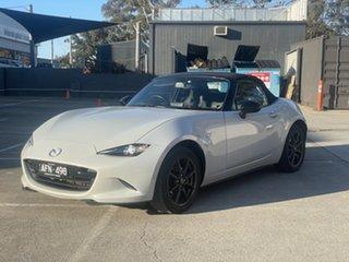 2015 Mazda MX-5 ND GT SKYACTIV-MT White 6 Speed Manual Roadster