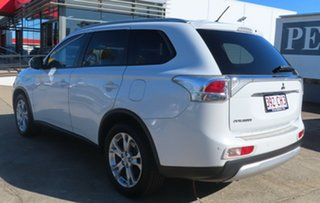2014 Mitsubishi Outlander ZJ MY14 LS (4x4) White 6 Speed Automatic Wagon